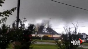 Tornado touches down in Richmond, Virginia