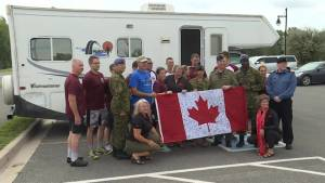 CFB Trenton takes part in Canal Pursuit for Mental Health
