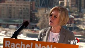Notley says her government will commit to Springbank dam if re-elected