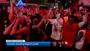 Play video: 6 in 6: Toronto Raptors feel the love of their hometown fans
