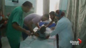 A Palestinian doctor now teaching at U of T proposes to bring 100 wounded children from Gaza to Ontario for treatment.