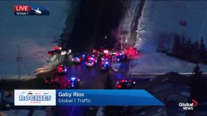 Dramatic police pursuit in Calgary's northeast