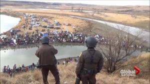 North Dakota Access Pipeline protest faces tough deadline