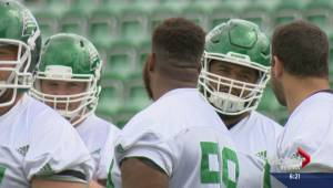 Riders offensive line getting healthy