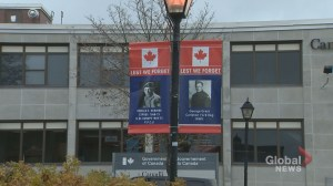 Woodstock honours veterans with symbolic banners