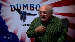 Danny DeVito ahead of the 'Dumbo' premiere