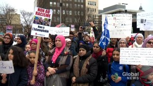 Dual rallies held in Montreal denouncing Bill 21