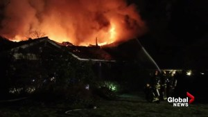 Surrey home destroyed by fire