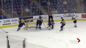 Moose Jaw Warriors double up Saskatoon Blades 4-2