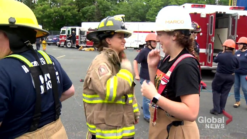 24 young campers get introduced to careers of first responders in Halifax