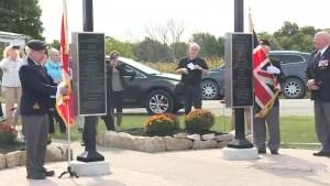 Lansdowne Veterans Memorial unveils plaques to remember fallen soldiers