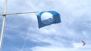 Most popular beach in New Brunswick raises Blue Flag