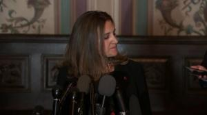 'Confident common sense will prevail': Freeland on U.S. tariffs
