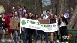Halifax students lead climate march through downtown streets