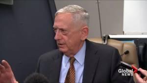 Mattis slams North Korea over H-bomb threats