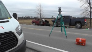 Fatal head on collision in Brock Township
