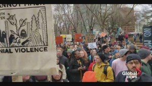 Edmonton students demand government action on climate change