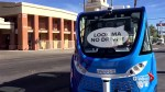 Driverless shuttle in crash on first day of operation in Las Vegas