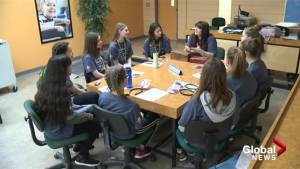 Kelowna students presented with living library