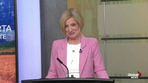 Rachel Notley highlights economy and diversity during closing (00:59)