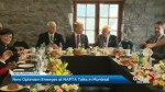 NAFTA talks take optimistic tone in Montreal