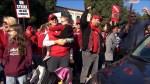 Teachers in Los Angeles celebrate as deal reached in hopes of ending almost week long strike