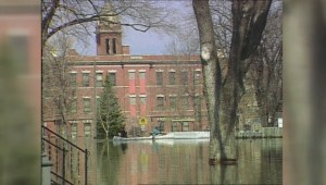 Archived: Fire tears through downtown Grand Forks during flood of 1997