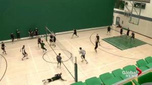 Saskatchewan Huskies men's volleyball in playoffs 1st time since 2015-16 season