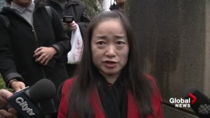 'I am not a racist': former Liberal candidate Karen Wang holds emotional press conference