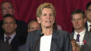 Doug Ford has put forward an 'agenda of cuts': Wynne