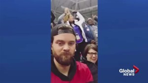 Calgarian's reaction to Team Canada loss goes viral