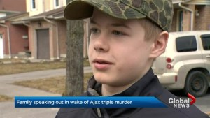 Relatives of Ajax homicide victims speak out