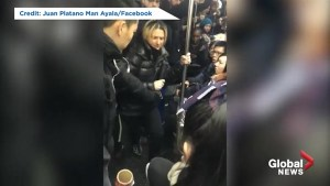 Woman arrested after racist tirade on NYC subway