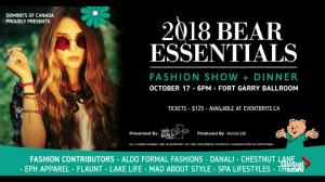 2018 Bear Essentials Fashion Show