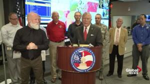 Georgia governor requests federal assistance to deal with Hurricane Michael