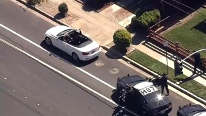 Man ditches car during police chase and hijacks a BMW