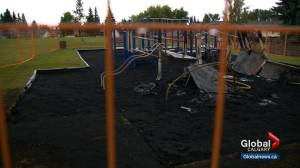 Teenage girl charged in Airdrie playground fire