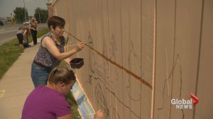 Calgary artists asking for volunteers to help create Canada's longest mural