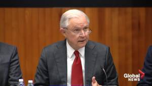 'We will find the person and persons responsible': Jeff Sessions
