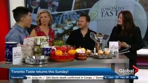 Combining food and philanthropy at Toronto Taste