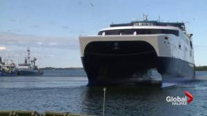 Nova Scotia says low ferry numbers won't put taxpayers on the hook for more cash (01:59)