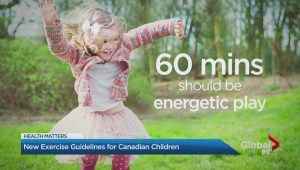 New 'movement guidelines' for Canadian children