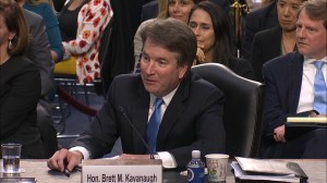 Kavanaugh asked if he discussed Russia probe with anyone from Trump's lawyer's firm
