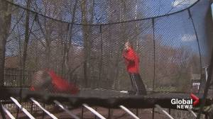 Are trampolines safe for kids? Alberta Health Services says, 'No way'