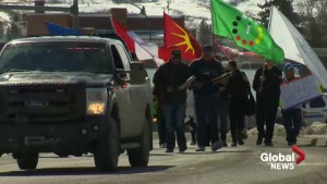 Marching to end racism in Cardston