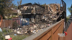 Fire destroys 3 homes in Calgary's Woodbine neighbourhood
