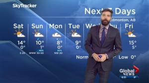 Edmonton Weather Forecast: April 12