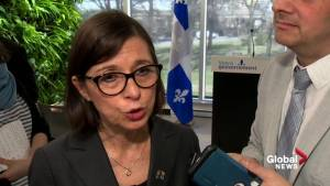 Quebec health minister on possibility of extending surgery pilot project (01:26)