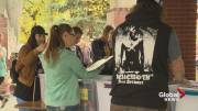 Play video: Lethbridge's largest record sale takes over Galt Gardens