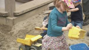 NDP announces more child care spaces, opposition not so sure